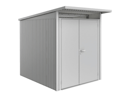 Gerätehaus AvantGarde A1, Doppeltüre Biohort 647293900000 Farbe Silber-Metallic Bild Nr. 1