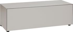 LUX Commode 400817800088 Dimensions L: 120.0 cm x P: 46.0 cm x H: 37.5 cm Couleur Gris taupe Photo no. 1