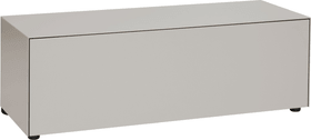 LUX Cassettone 400817800088 Dimensioni L: 120.0 cm x P: 46.0 cm x A: 37.5 cm Colore Talpa N. figura 1