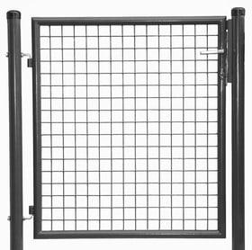 Cancello da giardino ancracite 636640300000 N. figura 1