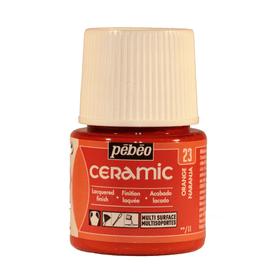 PÉBÉO Ceramic Keramikmalfarbe 23 Orange 45ml Pebeo 663510000300 Farbe Rot Bild Nr. 1
