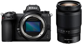Z 6II + 24–200mm Kit Kit appareil photo hybride Nikon 785300156043 Photo no. 1