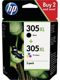 Combopack 305 XL black / color Tintenpatrone HP 789205200000 Bild Nr. 1