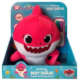 Baby Shark Peluche pour peindre Peluche fonctionnelle 747512200000 Photo no. 1