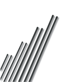Tuteurs acier plastifié 180cm