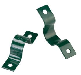 Colliers de tube vert pour mur, 34mm 636609900000 Photo no. 1