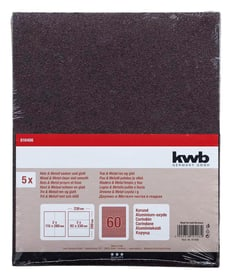 Schleifbogen Korund K 60, 5 Stk. kwb 610551700000 Bild Nr. 1