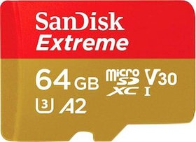 Extreme microSDHC 64 GB carte mémoire SanDisk 798248900000 Photo no. 1