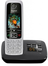 C430A schwarz silber Festnetz Telefon Gigaset 785300123485 Bild Nr. 1