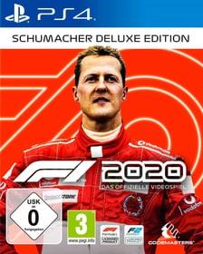 F1 2020 - Schumacher Deluxe Edition Box 785300152919 Sprache Französisch Plattform Sony PlayStation 4 Bild Nr. 1