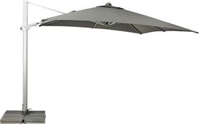 VARIOFLEX LED 300 x 300 cm Freiarmschirm Suncomfort by Glatz 753035300080 Farbe Bespannung Grau Bild Nr. 1