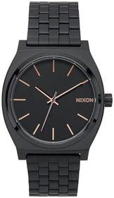 Time Teller All Black Rose Gold 37 mm Montre bracelet Nixon 785300137035 Photo no. 1