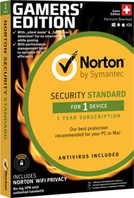 Security Standard Gamers' Edition 1 Device / 1 Year Physique (Box) Norton 785300139731 Photo no. 1