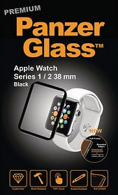 Displayschutz für Apple Watch Serie 1/2/3 38mm - schwarz Displayschutz Panzerglass 785300134546 Bild Nr. 1