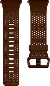 Ionic cuir perforé Cognac Bracelet Fitbit 785300131153 Photo no. 1