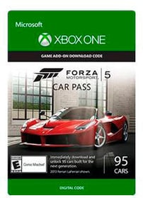 Xbox One - Forza Motorsport 5 Car Pass Download (ESD) 785300135410 N. figura 1