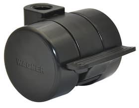 Möbelrolle D37 mm feststellbar Möbelrollen Wagner System 606426900000 Bild Nr. 1