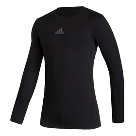 Techfit Compression Top Fussball-Untershirt Adidas 491119200420 Grösse M Farbe schwarz Bild-Nr. 1