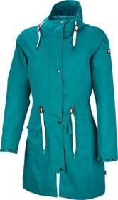Taslina Manteau de pluie pour femme Rukka 498425903465 Couleur petrol Taille 34 Photo no. 1
