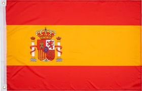 Fahne Spanien Fahne Extend 461959199933 Grösse one size Farbe Dunkelrot Bild-Nr. 1