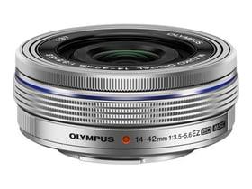 M.Zuiko 14-42mm F3.5-5.6 EZ argent Objectif Olympus 785300125777 Photo no. 1