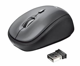 Yvi Wireless Mouse schwarz
