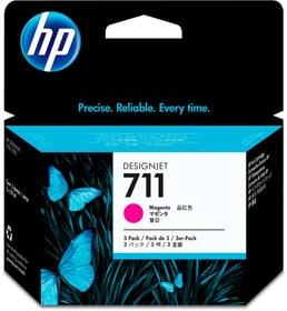 711 CZ135A  pack de 3 magenta Cartouche d'encre HP 795849800000 Photo no. 1