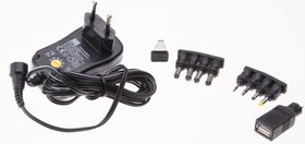 Universal-Steckernetzgerät 1000mA schwarz Netzgerät Max Hauri 613185400000 Bild Nr. 1