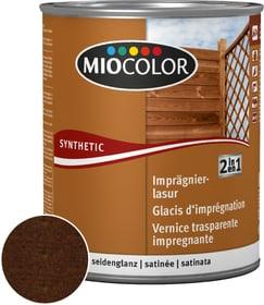 2in1 Imprägnierlasur Wenge 2.5 l Miocolor 661182400000 Farbe Wenge Inhalt 2.5 l Bild Nr. 1