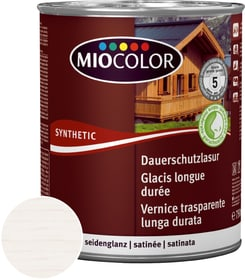 Vernice trasparente lunga durata Bianco calce 2.5 l Vernice trasparente lunga durata Miocolor 676774800000 Colore Bianco calce Contenuto 2.5 l N. figura 1
