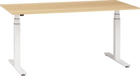 FLEXCUBE HOME Scrivania 401882300000 Dimensioni L: 140.0 cm x P: 80.0 cm x A: 64.5 cm Colore quercia chiara N. figura 1