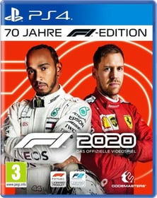 F1 2020 - 70 Jahre F1 Edition Box 785300152934 Langue Allemand Plate-forme Sony PlayStation 4 Photo no. 1