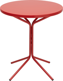 PIX Table ronde Schaffner 408010200030 Couleur Rouge Dimensions H: 72.0 cm Photo no. 1