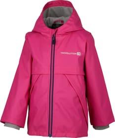 Mädchen-Regenjacke Trevolution 472369409829 Grösse 98 Farbe pink Bild-Nr. 1