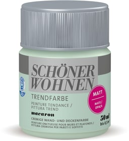 Trendfarbe Matt Tester Macaron 50 ml Wandfarbe Schöner Wohnen 660961600000 Inhalt 50.0 ml Bild Nr. 1