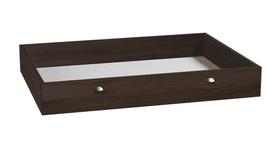 BOX Tiroir de rangement HASENA 403131585270 Dimensions L: 120.0 cm x P: 89.0 cm x H: 18.0 cm Couleur Couleur wengé Photo no. 1