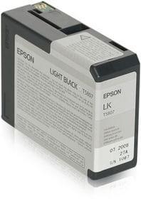 T5807 light black cartuccia d'inchiostro Epson 798282500000 N. figura 1