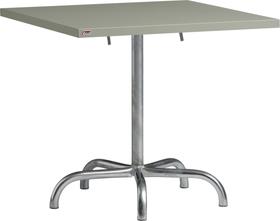 SÄNTIS Table pilante Schaffner 408025100067 Dimensions L: 80.0 cm x P: 80.0 cm x H: 72.0 cm Couleur Vert clair Photo no. 1