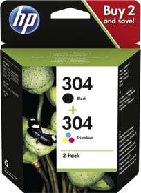 Combopack 304 Black et Tri-colour Cartouche d'encre HP 798555700000 Photo no. 1
