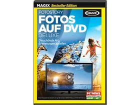 PC Bestseller MAGIX Fotos auf DVD Deluxe