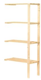 FLEXIBEL Scaffale aggiuntivo Scaffali in legno Do it + Garden 603405400000 N. figura 1