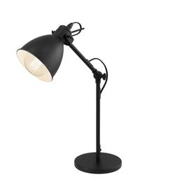 Lampe de table Priddy, noir
