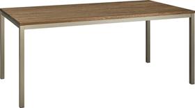 ALEXIS II Table 403700315003 Dimensions L: 180.0 cm x P: 90.0 cm x H: 75.0 cm Couleur Chêne foncé Photo no. 1