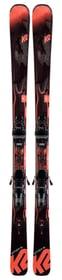 Anthem 80 inkl. ERC 11 TCX GW All Mountain Ski inkl. Bindung K2 464305314620 Farbe schwarz Länge 146 Bild-Nr. 1