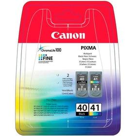 Multipack PG40/CL41 Cartuccia d'inchiostro Canon 785300126221 N. figura 1