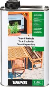 Huile pour teck et bois dur Jardin + extérieur Wepos 661447700000 Photo no. 1