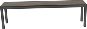 LOCARNO, 200 cm, struttura antracite, piano HPL Panca 753193720070 Taglio L: 200.0 cm x L: 35.0 cm x A: 45.0 cm Colore Oxido Terra N. figura 1