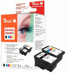 Multipack Canon PG-545XL / CL-546XL BKCMY Cartouche d'encre Peach 785300154241 Photo no. 1