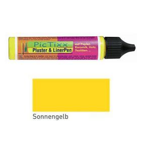 Pluster & Liner Pen C.Kreul 664802200011 Colore Giallo N. figura 1