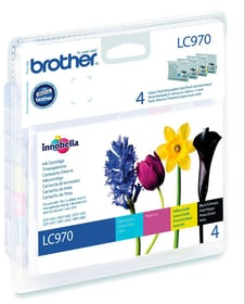LC-970VALBP Multipack cartuccie d'inchiostro cartuccia d'inchiostro Brother 797500400000 N. figura 1